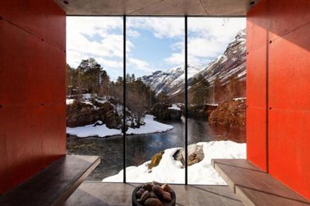 Probablemente, la mejor sauna del mundo