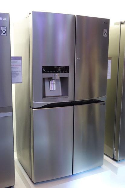 Lg apuesta por la eficiencia energ tica y el dise o en su - Neveras doble puerta ...
