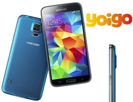 Precios Samsung Galaxy S5 con Yoigo