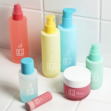 La marca de maquillaje 3INA lanza su primera línea de cuidado de la piel