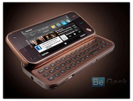 El Nokia N900 aparece en una foto oficial mientras que el Nokia N97 Mini lo hace en una completa galería