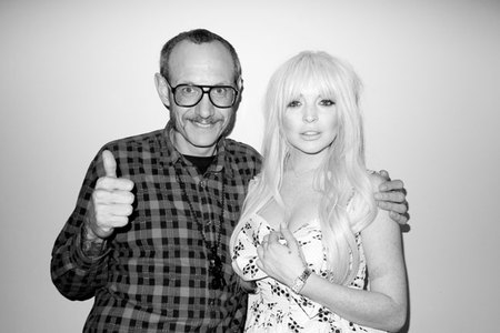 Lindsay Lohan y Terry Richardson