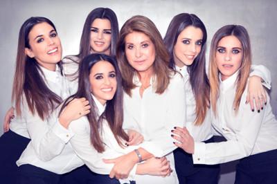 Cinco actrices para un objetivo en la campaña Primavera-Verano 2014 de Purificación García