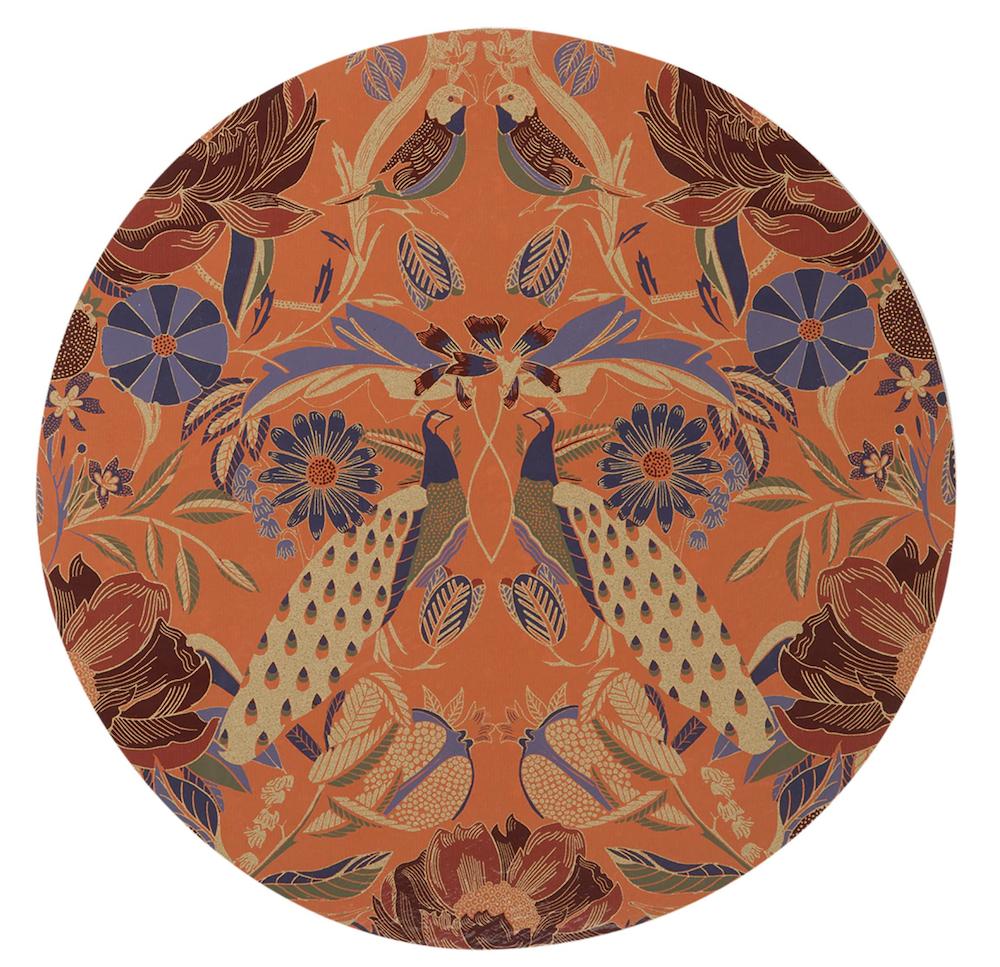 Mantel individual redondo de MDF Jane I El Corte Inglés