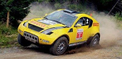 Curiosidades en competición: McRae Enduro S-SUV