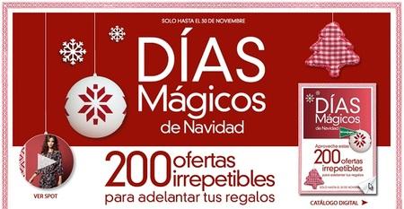 Aprovecha los 'Días mágicos de Navidad' en El Corte Inglés