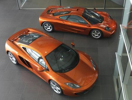 McLaren F1 GTR vs McLaren MP4-12C, duelo en Woking