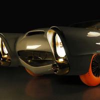 Golden Sahara II, el primer vehículo semi autónomo reaparece completamente restaurado
