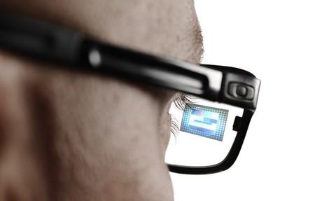 Apple glass con imagen en lente