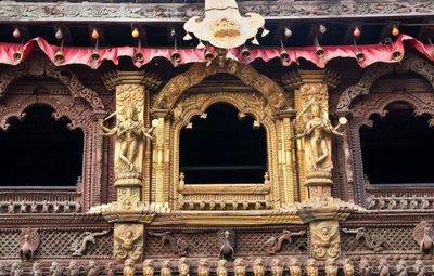 Nepal: Kumari Ghar o la casa de la diosa viviente