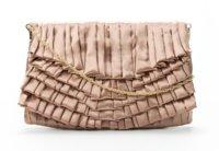 Bolsos de fiesta de Zara. Raso, terciopelo y oro y el clutch como estrella