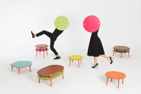 Playplay, una colección de muebles para decorar jugando