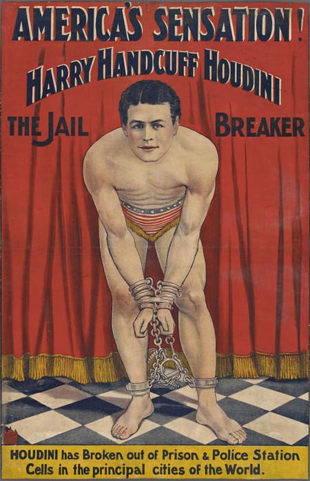 Exposición Harry Houdini