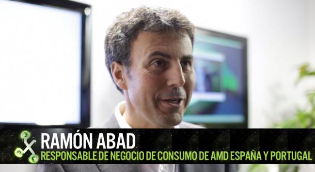 """""""Hoy la gente compra tablet antes de renovar ordenador, pero eso madurará"""", Ramón Abad de AMD"""
