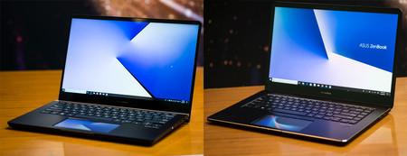 ASUS ZenBook Pro 15 y ZenBook Pro 14, primeras impresiones: así es la interacción en un ordenador con doble pantalla