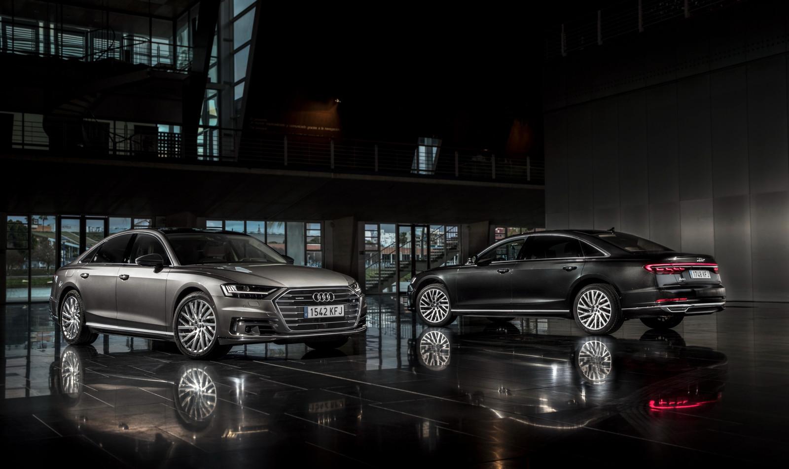 Foto de Audi A8 2018 (presentación) (81/81)