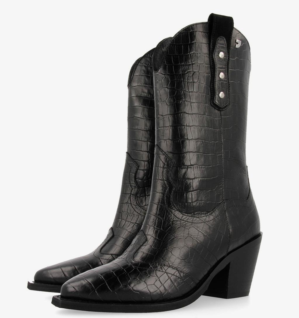 Botas de estilo cowboy negras