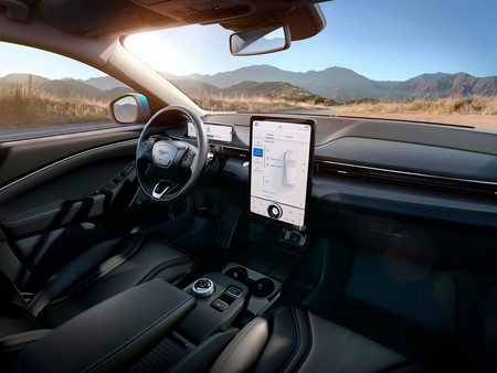 Ford Mustang Mach E 2020 Interior 01