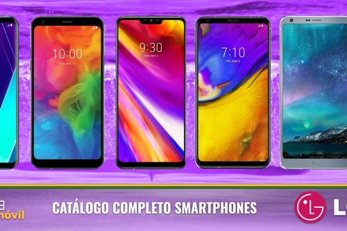 LG V35 ThinQ, así encaja dentro del catálogo completo de móviles LG en 2018