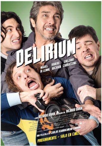'Delirium', cartel y tráiler de lo nuevo con Ricardo Darín