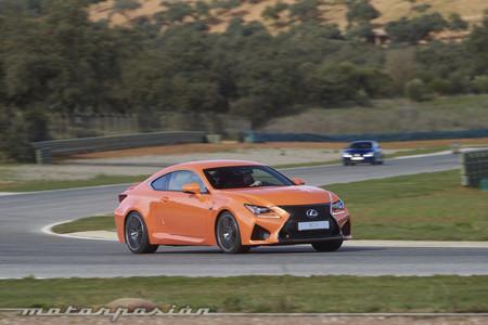 Lexus RC F prueba Ascari