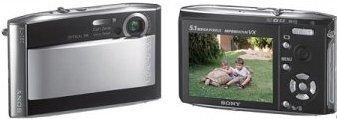 Sony presenta la Cyber-shot DSC-T5