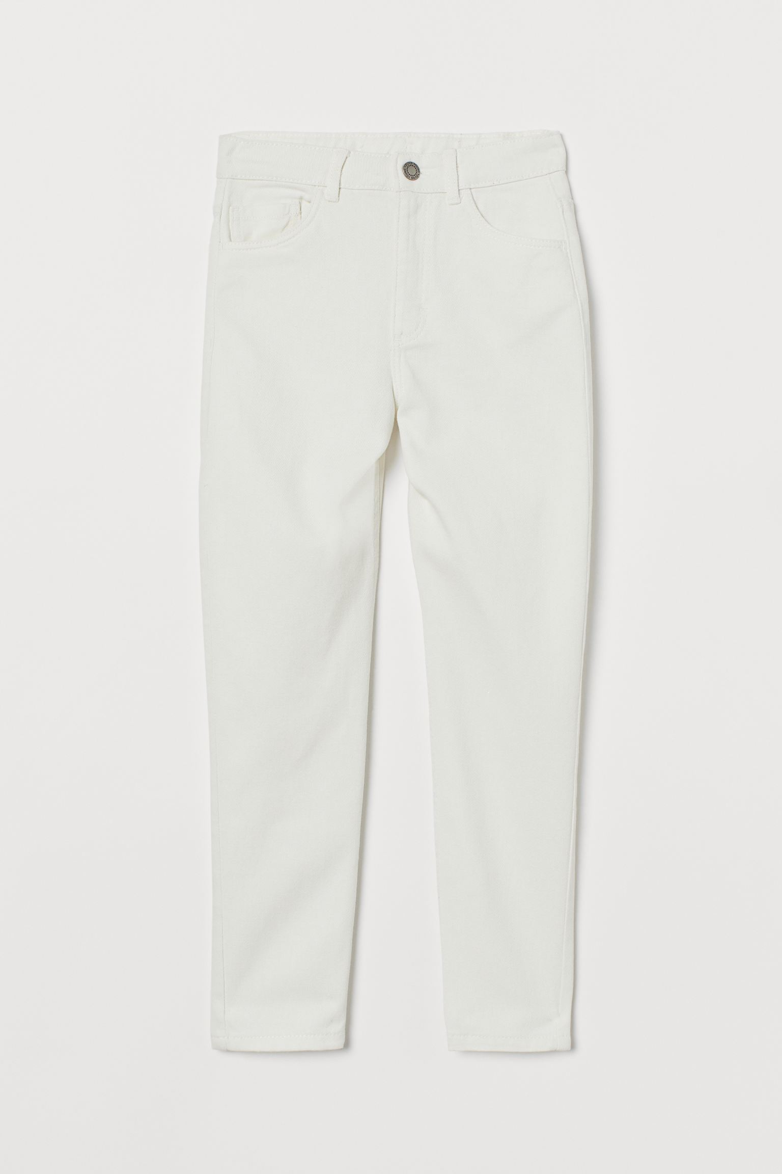 Relaxed High Ankle Jeans