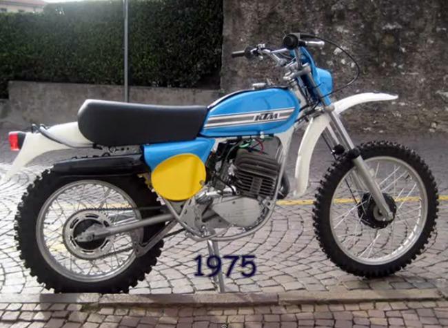 KTM 1975 Azul