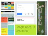 Google Keep para Android y su versión web en iOS, lo probamos