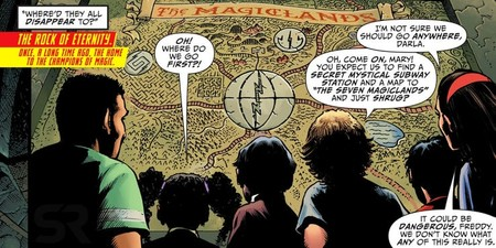The Magiclands Of Shazam Comics