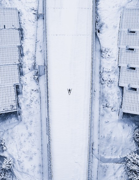 Ski Jumper By Thedronelad Poland