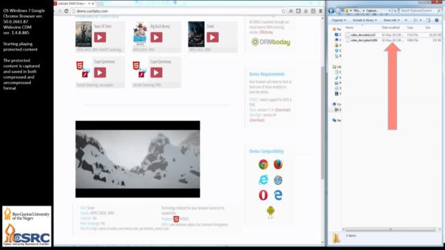 Descubren un bug en Chrome que permite descargar vídeos protegidos con DRM