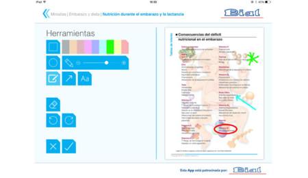 Embarazo y dieta miniatlas para iOS