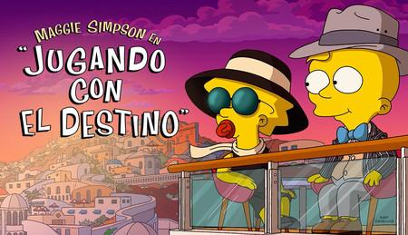 'Jugando con el destino': Maggie se enamora en el primer e inofensivo corto de 'Los Simpson' en Disney+