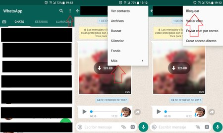 Bloqueo Whatsapp