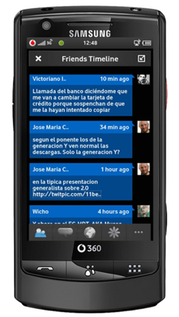 Vodafone 360 Twitter