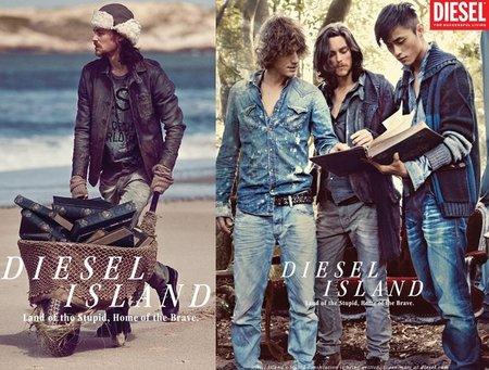 Diesel pre-colección Otoño 2011, un revival del estilo 'grunge'