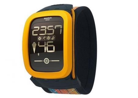 Swatch Touch Zero One, un reloj inteligente pensado para el voleibol
