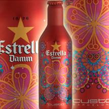 Estrella Damm se vuelve a vestir de Custo