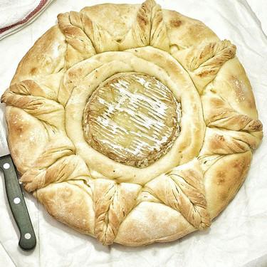 Sorprende a tus comensales con este pan camembert: te explicamos la receta con y sin Thermomix