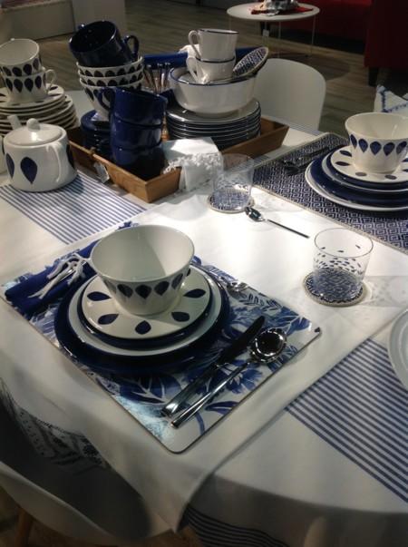 Mesa Azul Ceramica