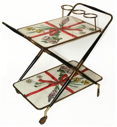 Fornasetti, muebles vintage decorados