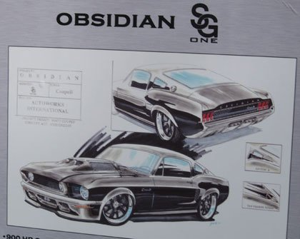 Obsidian CoupeR Mustang