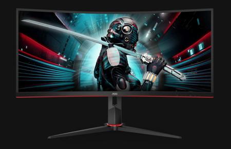 AOC CU34G2 y CU34G2X: dos nuevos monitores gaming con pantalla curva y relación de aspecto 21:9