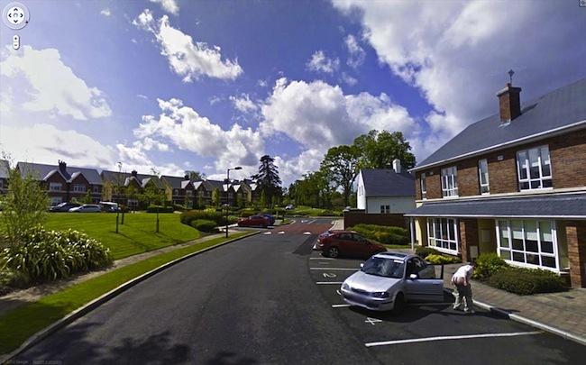 Google Street View fotos por Jon Rafman