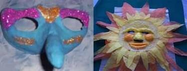 Más ideas para hacer máscaras de carnaval