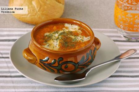 Crema de zanahoria y jengibre. Receta saludable