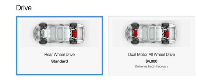 Tesla Dual Motor