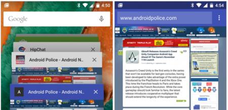 Chrome 39 para Android permitirá que la barra de estado se adapte al color de la página que visitemos