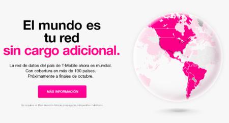 T-Mobile US permitirá utilizar su tarifa de datos en 115 países sin coste adicional
